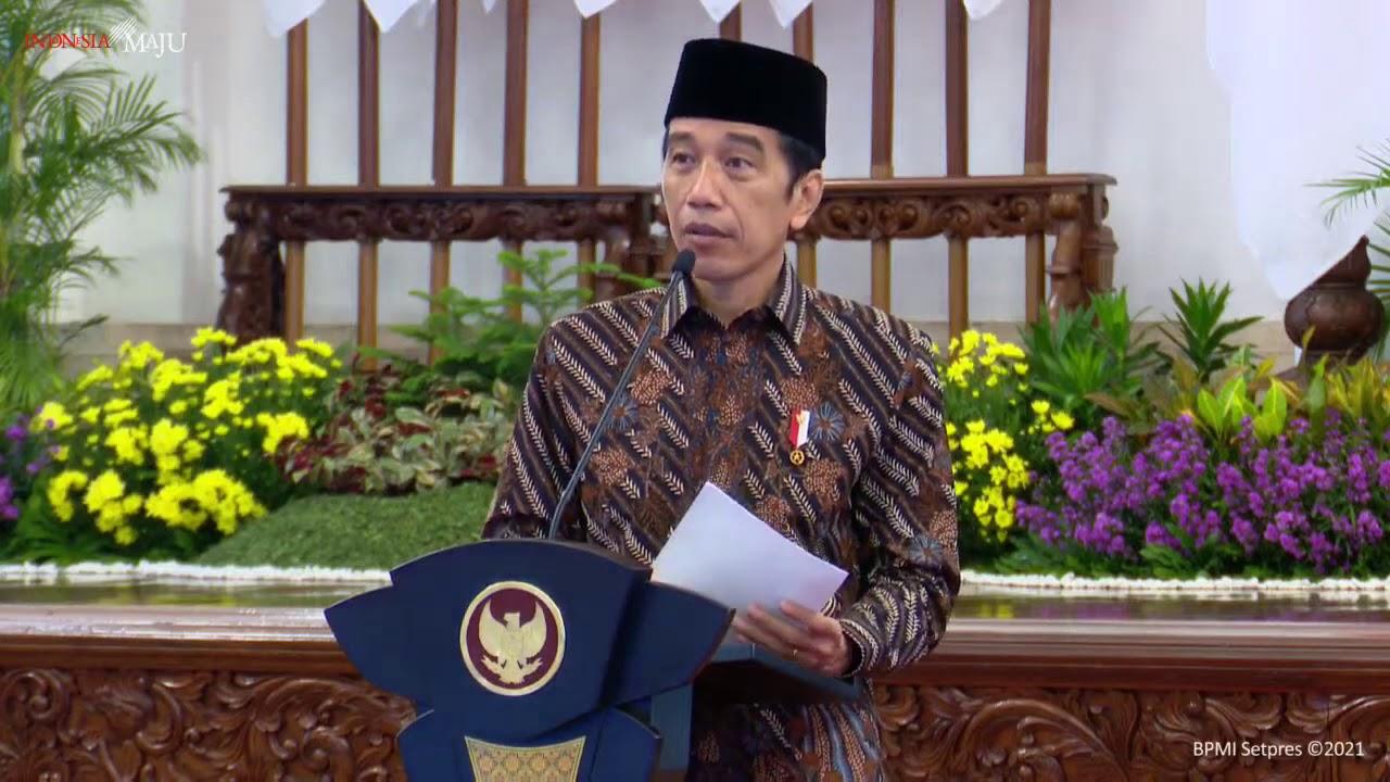 Breaking News; Peresmian Pembukaan Kongres XXXI Himpunan Mahasiswa Islam (HMI) Tahun 2021, 17 Maret 2021, dari Istana Negara, Provinsi DKI Jakarta