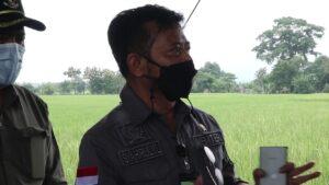 Kunjungan Kerja Mentri Pertanian Ke Karangayar