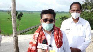 Dampingi Presiden RI Mentan Kunjungi Kawasan Food Estate Sumba NTT