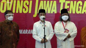 Vaksinasi Masal, Lintas Tokoh Agama, Santri Se Jawa Tengah